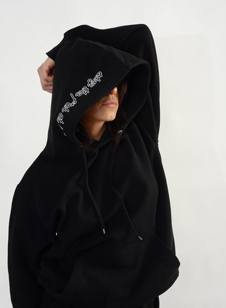Meg Stay The F*ck At Home Hoodie - Black