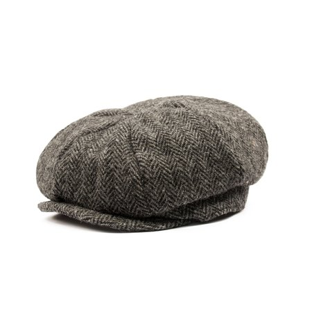 Gibson Harris Tweed Hat - Grey