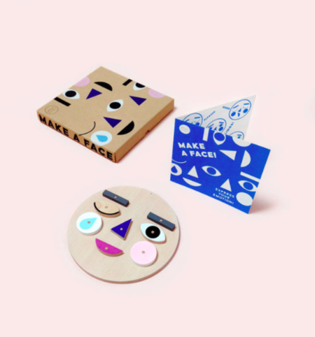 Kids MOON PICNIC Make a Face toy
