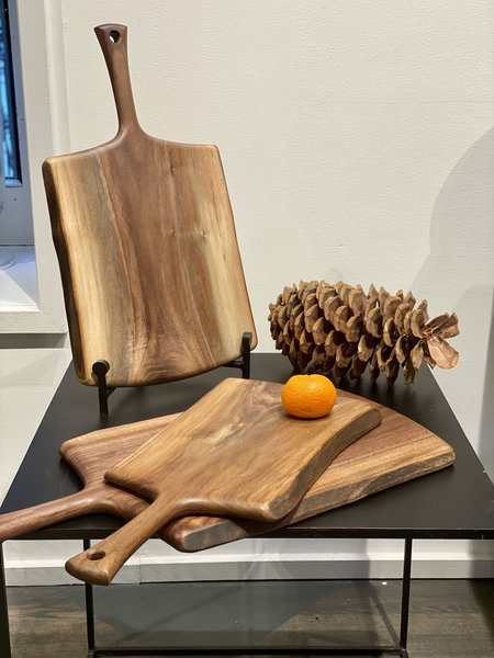 CLEMENTINE'S Black Walnut Handled Board