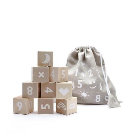 Kids Ooh Noo White Math Blocks