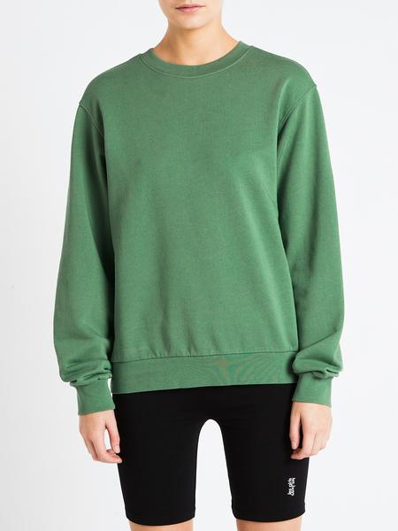 LES GIRLS LES BOYS Crew Neck Sweatshirt - Green
