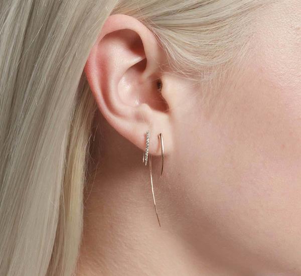 Gabriela Artigas 14K Yellow XL Infinite Tusk Single Earring