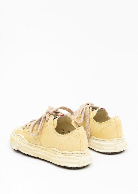 Beige Original Sole Overdyed Canvas Sneaker (PETERSON LOW)