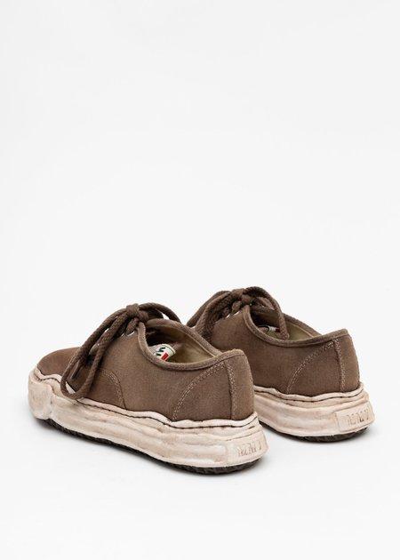 Mihara Yasuhiro Original Sole Overdyed Canvas Sneaker - Brown