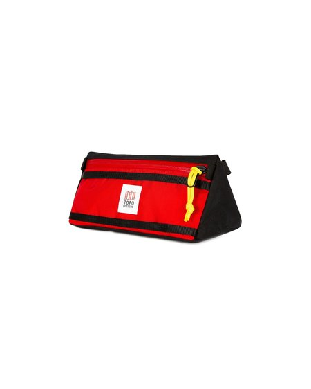 Topo Designs Bike Bag - Red/Black