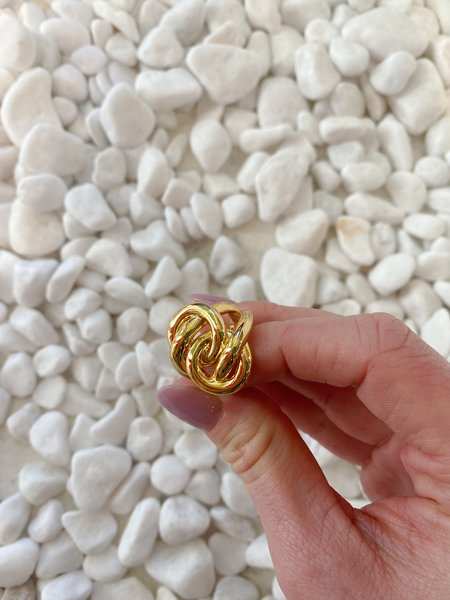 SS JEWELRY Knotted Infinity Ring