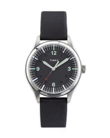 Timex Reloj Waterbury United - Steel Black Dial