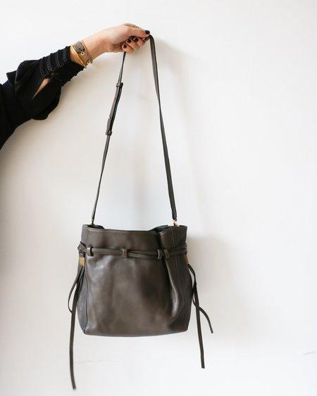 [Pre-loved] BOYY Leather Shoulder Bag - Grey