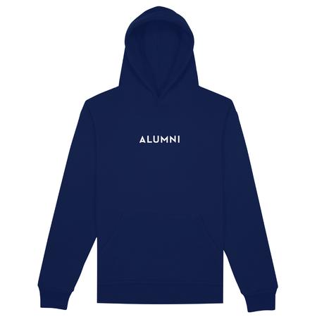 Alumni Of NY Box Logo Hoodie