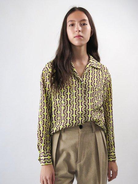 Erica Tanov emanuelle shirt - acid 1965