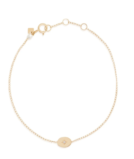 By Charlotte Shine Your Light Bracelet - 14k Gold