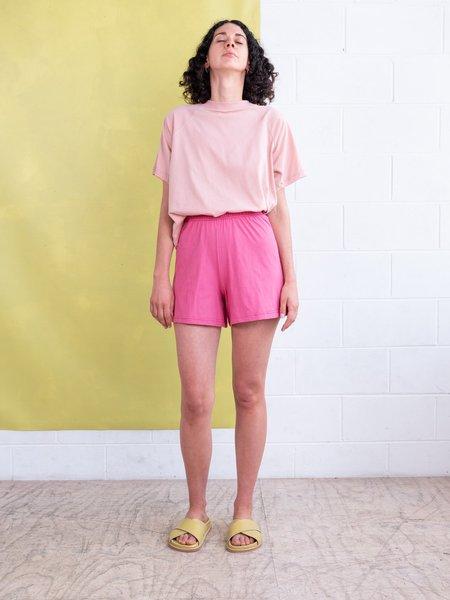 FME Apparel Jersey Raglan Tee - Dusty Pink