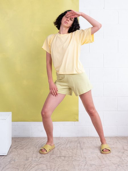 FME Apparel Jersey Swing Shorts - Lime