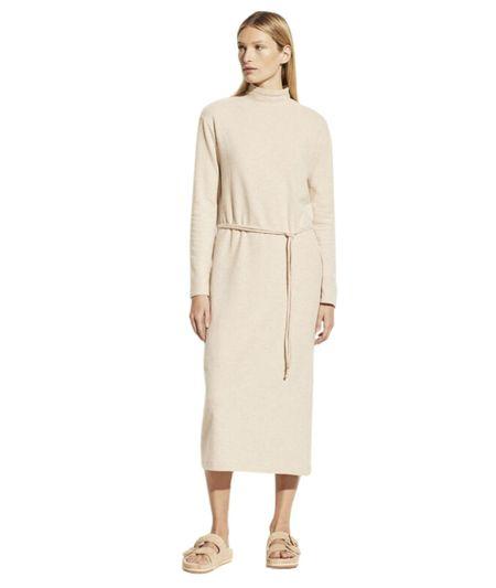 VINCE L/S Turtleneck Dress