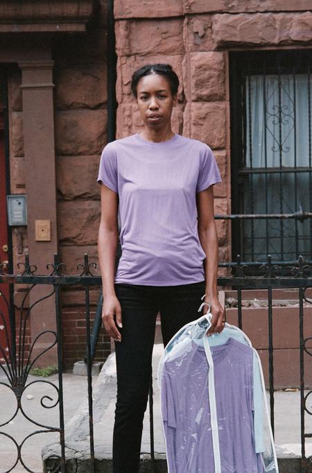 Baserange Tee Shirt - Chay Purple
