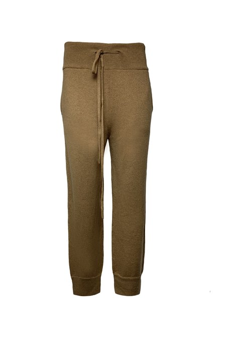 Lars andersson x KES Knitted Sweatpants - Camel