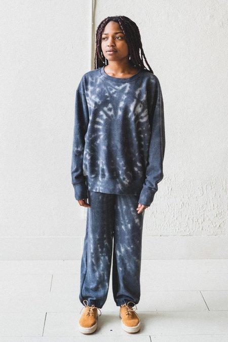 Lacausa Slater Sweatshirt - Smokey Quartz Tie Dye