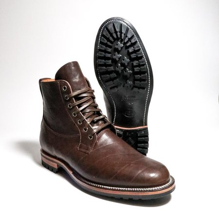 Viberg Country Boot - Maryam Brown Washed Horse