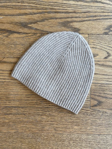 Jumper 1234 Ribbed Beanie - Organic Light Brown