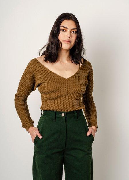 Penny Sage Sylvette Knit - Bronze