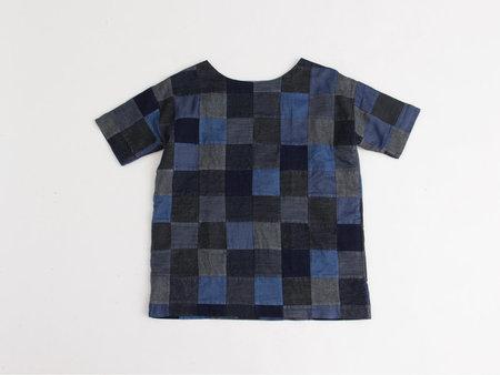 Mary Meyer Patchwork Denim Square Dress
