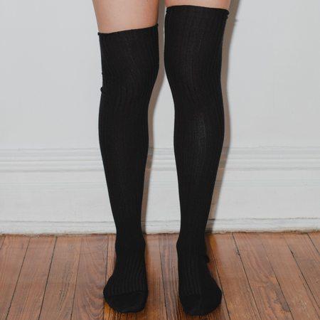 Baserange Overknee Socks - Black