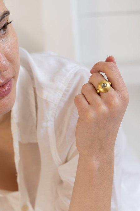 Prounis Sapphire Bulla Dome Ring