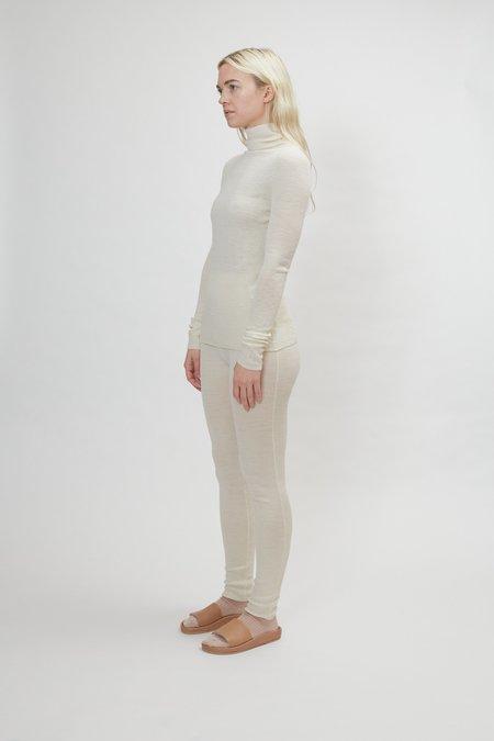 Lauren Manoogian Rib Turtleneck - White