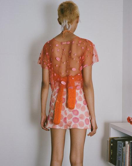 Sydney Pimbley Dolly Mix Skirt - Coral