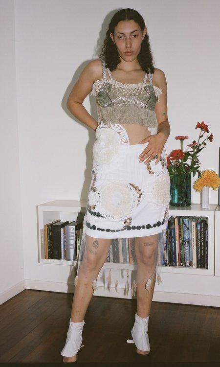 Sydney Pimbley Dot to Dot Slip Dress