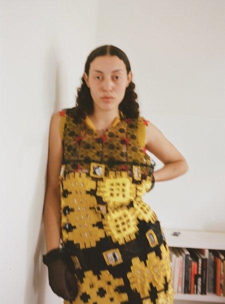 Sydney Pimbley Welsh Portcullis Slip Dress