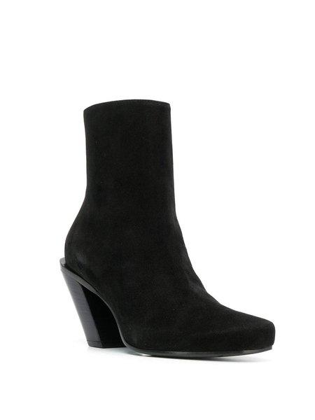 Ann Demeulemeester Camoscio Boot - Black