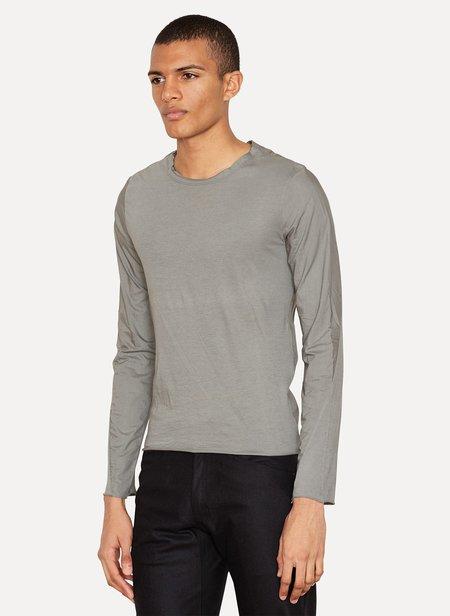 LUMEN ET UMBRA Jersey Poplin Layered Long Sleeve top - Gray