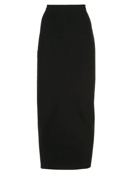 Rick Owens Larry Knit Skirt - Black