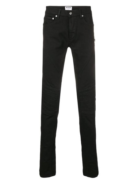 VERSUS VERSACE Slim Fit Denim Jeans - Black