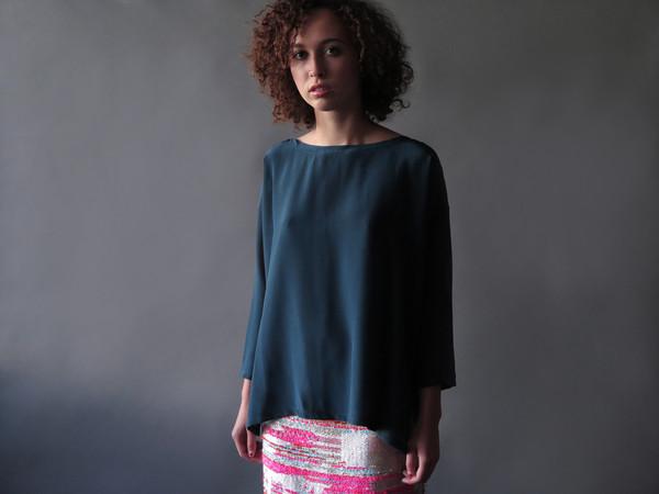 Erica Tanov valda blouse