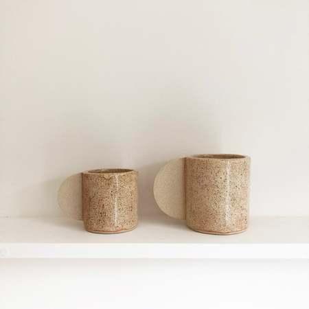 Brutes ceramics Speckled large cup - cream