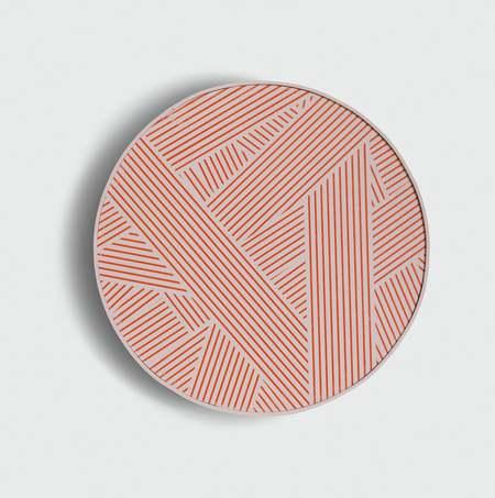 Custhom Framed Oblique print - grapefruit
