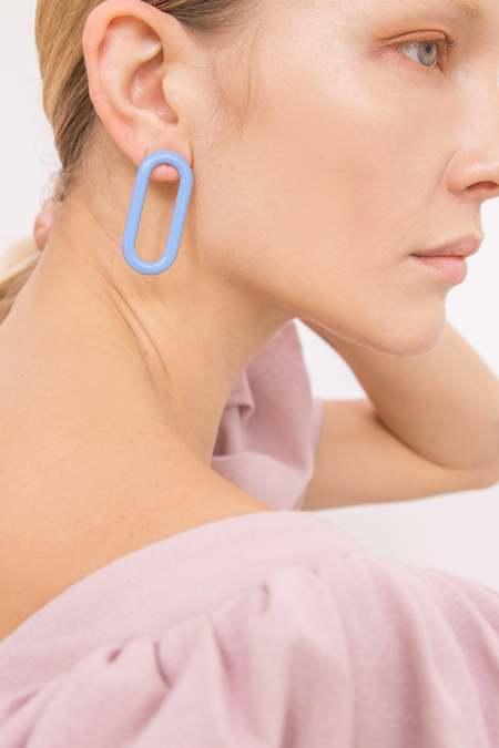 MATTER MATTERS Oval Earrings