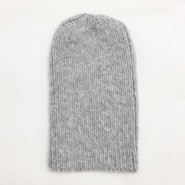 Johan Light Grey Alpaca Hat