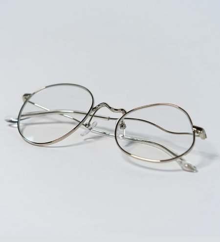 Percy Lau Ground Zero X eyewear - Silver