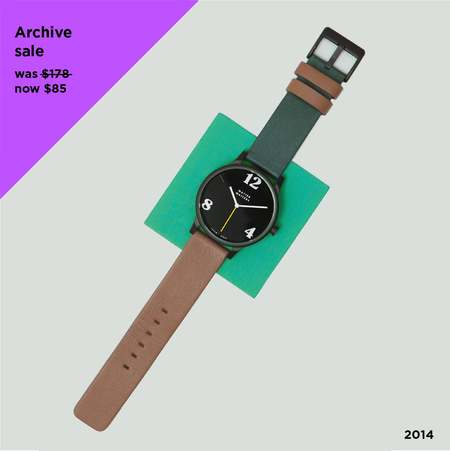 Matter Matters HAYWOOD Wristwatch - Brown/green