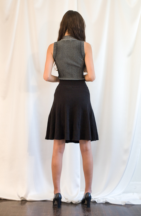 Pari Desai Fiona Flared Skirt - Black
