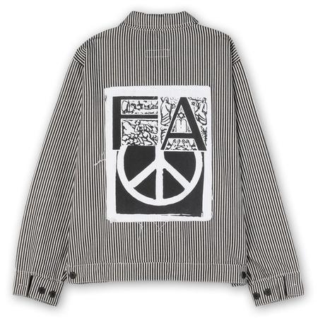 Fucking Awesome Peace Work Jacket -  Black