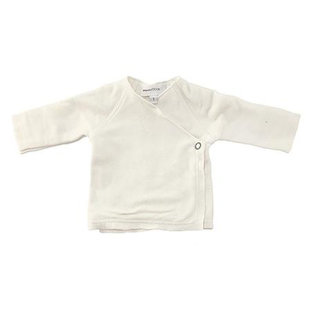 Kids Pequeno Tocon Amour Wrap Jacket - Natural Cream