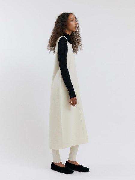 Rus the Brand Tokei Dress - Chalk