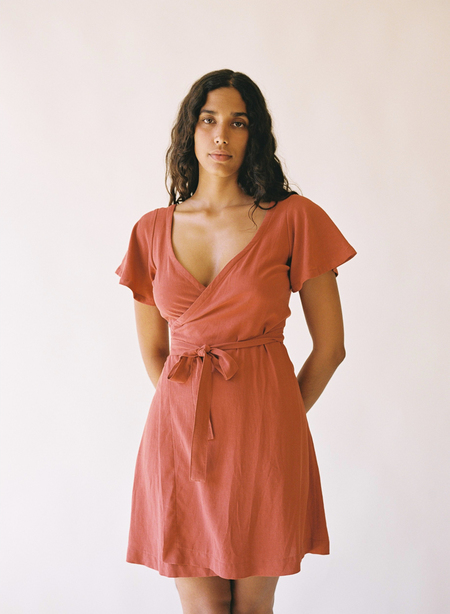 Aniela Parys Vanja Wrap Dress