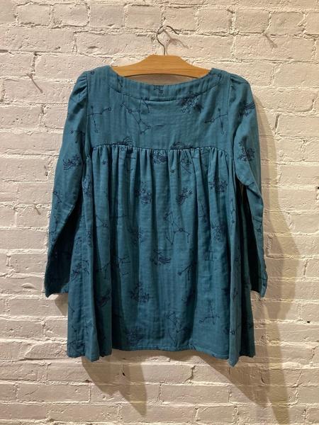 Echappées Belles Celestial Embroidered Blouse - Blue