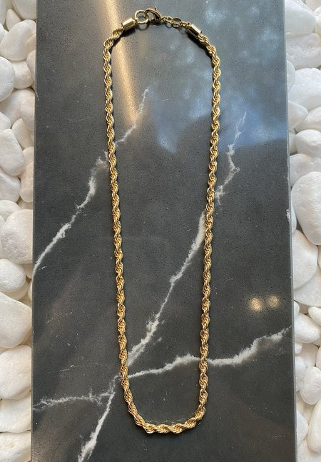 SS JEWELRY Rope Chain - Gold Filled